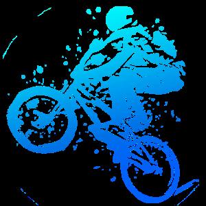 BMX Bike Fahrrad Rad Downhill Bmx fahren