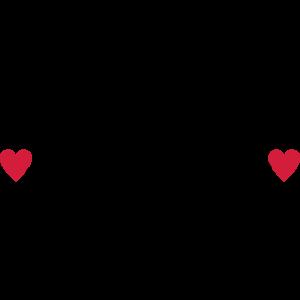 Herzschlag mit Herz und Radfahrer, radfahren