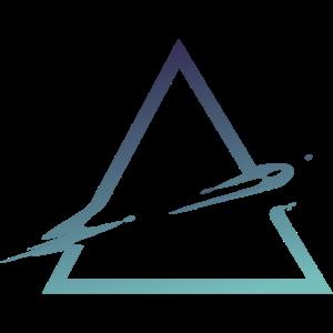 Triangel Abstrak Dreieck Geometrie Weltraum Spacey