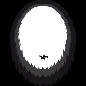 Faschingskostüm Karneval Fastnacht Pandabär Bauch