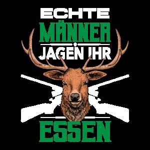 Jäger Förster Hirschgeweih Jagen