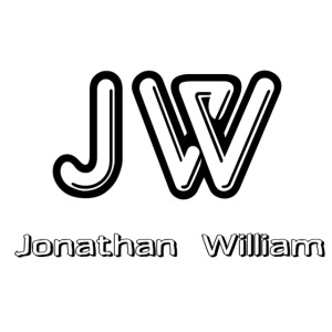 Jonathan William JW logo