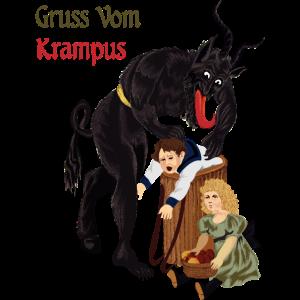 Gruss Vom Krampus Weihnachten Ugly Christmas