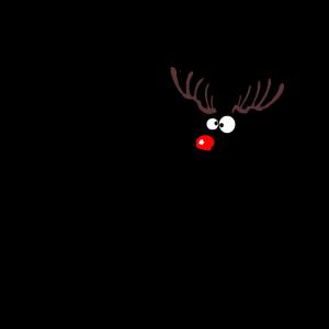 reindeer boop christmas