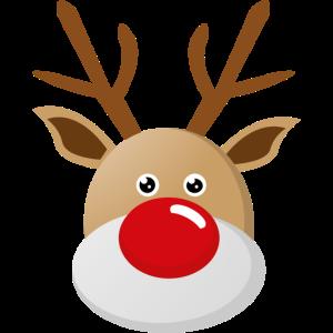 Rudolf Rentier mit der roten Nase Weihnachten