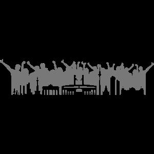 Skyline - Berlin Stadion