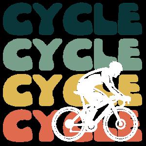 Fahrrad Fahrradfahren Radfahrer Hippie