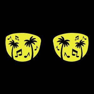 brille palmen music