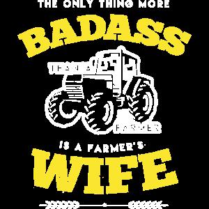 Badass Farmers Wife Shirt