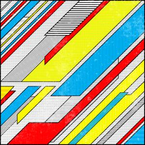 Buntes Muster (Pop Art) 01