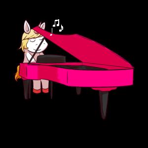 Einhorn Piano Klavier Flügel