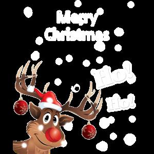 Merry Christmas Frohe Weihnachten Damen und Herre
