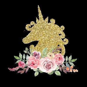 Unicorn Gold - Einhorn