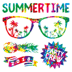 summertime party crew colors