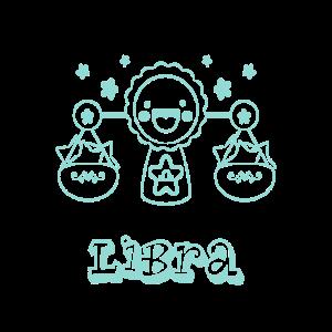 Süßes Waage Sternzeichen für Kinder Libra Geschenk