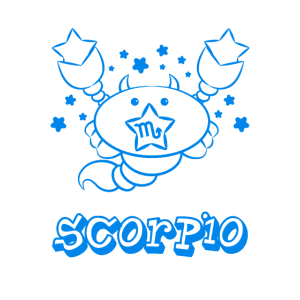 Süßes Skorpion Sternzeichen Kinder Scorpio Zodiac