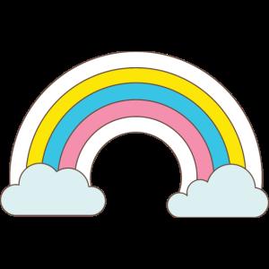 Rainbow. Unicorns, Color, Girls, Fairytales, Kids