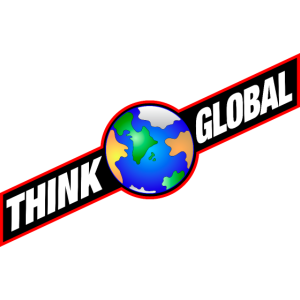 think global / global denken / global