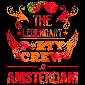 amsterdam party crew legendary