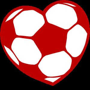 Ich Liebe Fussball Fussballfan Herz Fussballer
