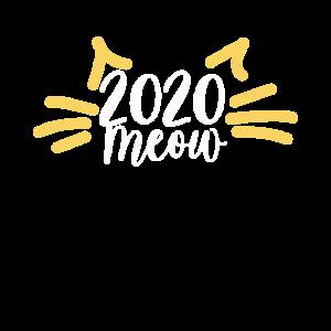 Neujahr Katze