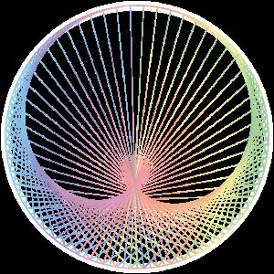 Heilige Geometrie - Stringart