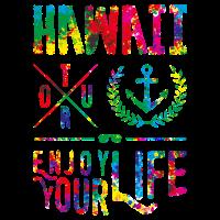 hawaii enjoy colors