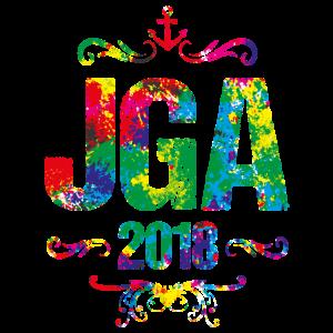 jga 2018 colors