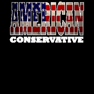 Amerikanischer trinkender Entwurf Amerikanischer Konservativer