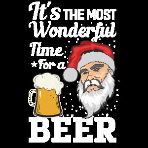 Weihnachtmann Bier, so wird die gefeiert