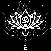 Lotus Blume, lotus flower, white version