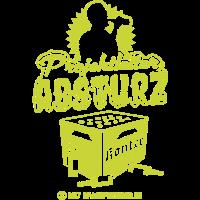 lustiges Shirt-Design Projektleiter Absturz