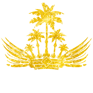 crown palm gold
