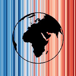 Klimawandel, Warming Stripes, Erde
