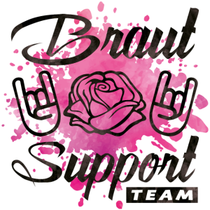 braut support rose party