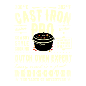 Grill T Shirt Cast Iron Pro für Dopfer