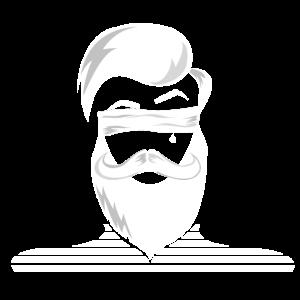 Bearded Man Mann mit Bart Seemann Geschenk