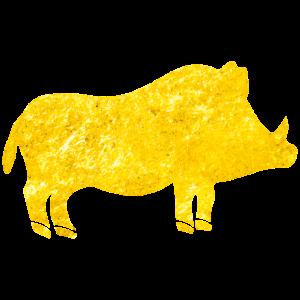 wildschwein gold