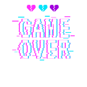 Game Over Yami Kawaii Pastel Goth Harajuku Fashion