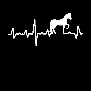Pferd Herzschlag Pferde Reiterin