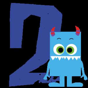 Monster 2 Jahre Geburtstag