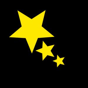 3 Sterne Deko Icon Geschenk