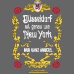 Cooles Düsseldorf Shirt Design im Vintage Look