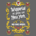 Cooles Wuppertal-Shirt-Design im Vintage Look
