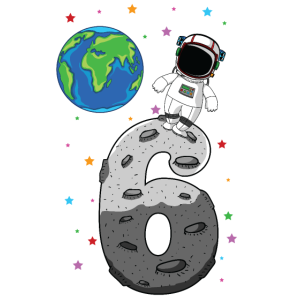 Geburtstaggeschenk für 6 Jährigen Astronaut