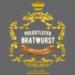 Grillshirt-Design Projektleiter Bratwurst, vintage