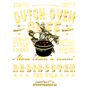 Dutch Oven Chef More than a Meal