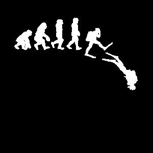 Tauchen Geschenk Taucher Evolution