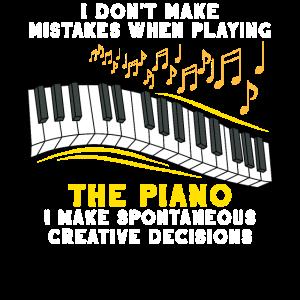 Klavier Musik Keyboard Musiker Instrument Geschenk