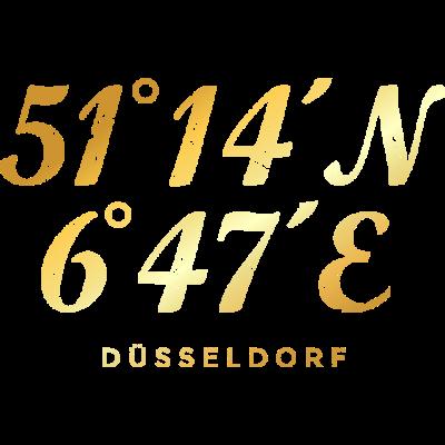Düsseldorf Koordinaten - Düsseldorf  Design mit den Düsseldorfer Koordinaten mit Längengrad und Breitengrad in internationaler Schreibweise für Urlauber, Abenteurer oder Globetrotter. - städte,stadt düsseldorf,stadt,längengrad,koordinaten,düsseldorfshirts,düsseldorferin,düsseldorfer,düsseldorf t-shirts,düsseldorf shirts,düsseldorf navigation,düsseldorf koordinaten,düsseldorf geschenkidee,düsseldorf geschenke,düsseldorf geschenk,düsseldorf am rhein,düsseldorf accessoires,düsseldorf,duesseldorf,ddorf,breitengrad